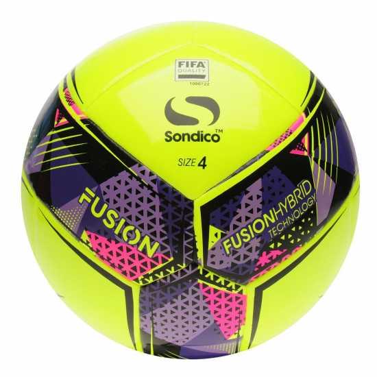 Sondico Fusion Fifa Football Yellow Футболни топки