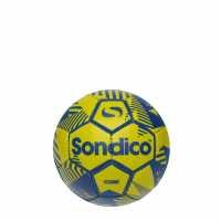Sondico Футболна Топка Core Xt Mini Football Fluo Yell/Blue Футболни топки