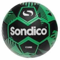 Sondico Футболна Топка Core Xt Mini Football Black/Green Футболни топки