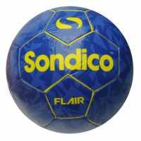 Sondico Футболна Топка Flair Football Purple/yellow Футболни топки