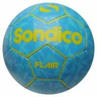 Sondico Футболна Топка Flair Football Navy/Cyan Футболни топки