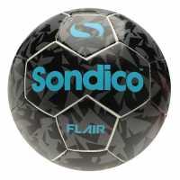Sondico Футболна Топка Flair Football White/Black Футболни топки