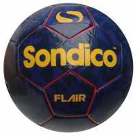 Sondico Футболна Топка Flair Football Red/Navy Футболни топки