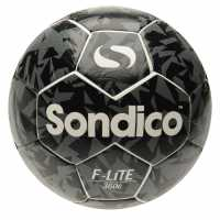 Sondico Футболна Топка Flair Lite Football White/Black Футболни топки