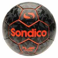 Sondico Футболна Топка Flair Futsal Orange/Black Футболни топки