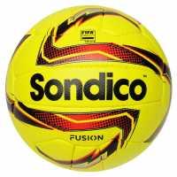 Sondico Футболна Топка Fusion Football Yellow/Red/Blk Футболни топки