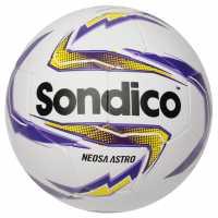 Sondico Футболна Топка Neosa Astro Football White/Purp/Yell Футболни топки