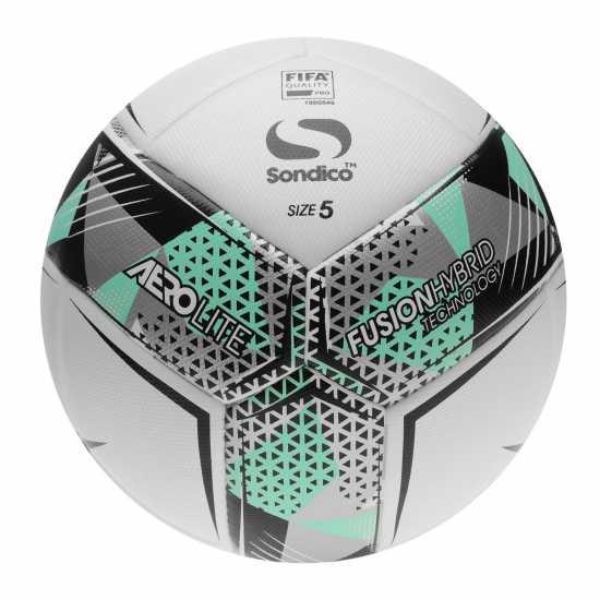 Sondico Футболна Топка Aerolite Football White Футболни топки