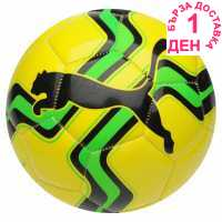 Puma Big Cat Football Yellow/Green Футболни топки
