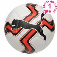 Puma Big Cat Football White/Red Футболни топки