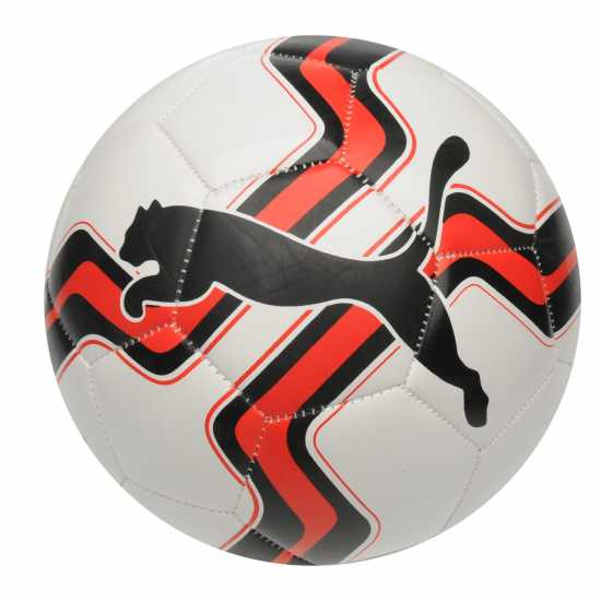 Puma Big Cat Football White/Red Футболни топки