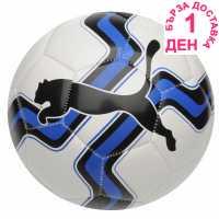 Puma Big Cat Football White/Blue Футболни топки