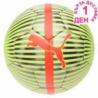 Puma Футболна Топка One Chrome Football Yellow/Red Футболни топки
