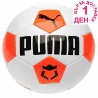 Puma Футболна Топка King Force Football White/Coral Футболни топки