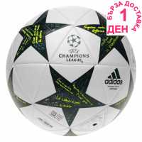 Adidas Футболна Топка Uefa Champions League Capitano Final Football White/Green Футболни топки