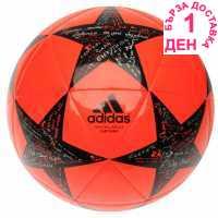 Adidas Футболна Топка Uefa Champions League Capitano Final Football Red/Black Футболни топки