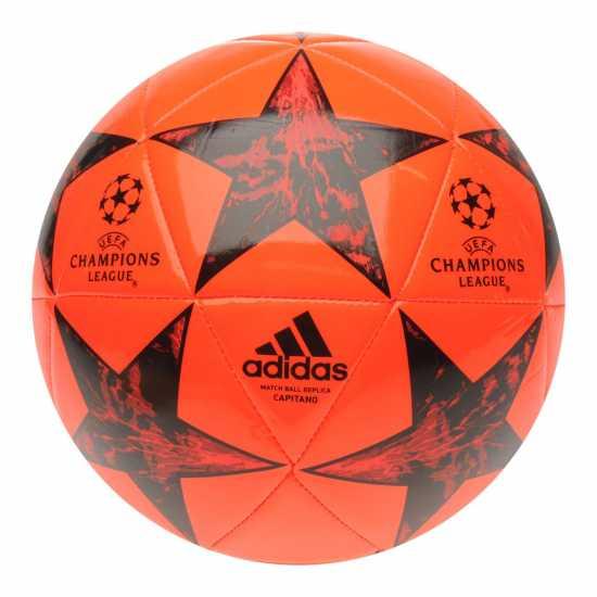 Adidas Uefa Champions League Final 2017 Capitano Football Solar Red Футболни топки