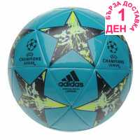 Adidas Uefa Champions League Final 2017 Capitano Football Energy Blue Футболни топки