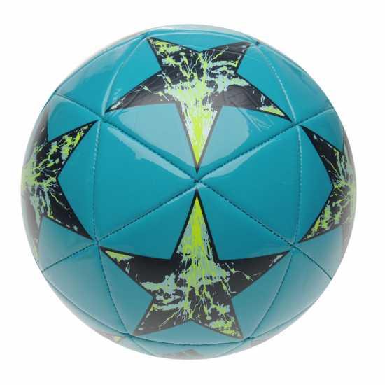 Adidas Uefa Champions League Final 2017 Capitano Football Energy Blue Футболни топки