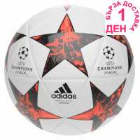 Adidas Uefa Champions League Final 2017 Capitano Football White/Red Футболни топки