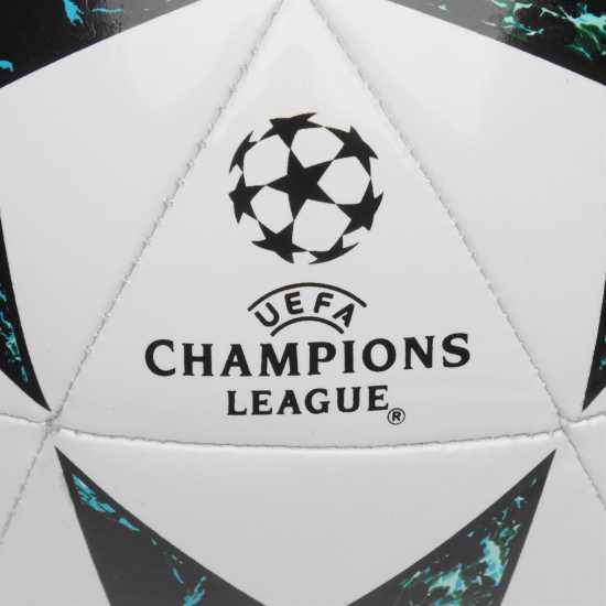 Adidas Uefa Champions League Final 2017 Capitano Football White/Blue Футболни топки