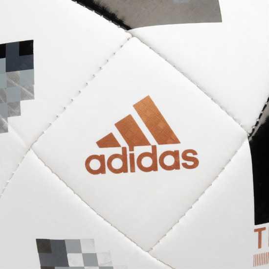 Adidas Футболна Топка World Cup Telstar Top Glider Football White/Blk/Silv Футболни топки