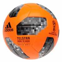 Adidas Футболна Топка Telstar 18 Official Winter World Cup Match Ball Sol Orange/Blk Футболни топки
