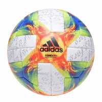 Adidas Conext 19 Womens World Cup Official Match Football White/Yel/Red Футболни аксесоари