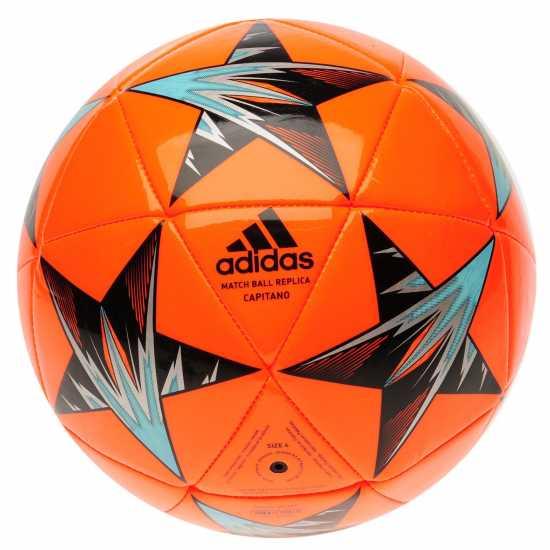 Adidas Ucl Final Kiev Capitano Replica Football Solar Orange Футболни топки