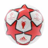 Adidas Football Uniforia Club Ball Wht/Blk/Red Футболни топки
