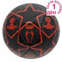 Adidas Glider Finale Football Black/Red Футболни топки