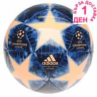 Adidas Uefa Champions League Capitano Replica Football Blue/Pink Футболни топки