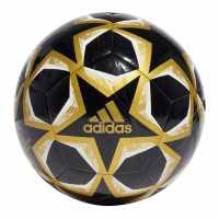 Adidas Football Uniforia Club Ball Black/Gold Футболни топки