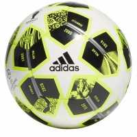 Adidas Football Uniforia Club Ball White/Yellow Футболни топки