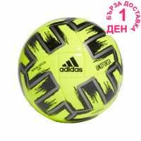 Adidas Mens Football Uniforia Club Ball EU Yellow Футболни топки