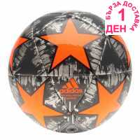 Adidas Uefa Champions League Capitano Replica Football Silver/Orange Футболни топки