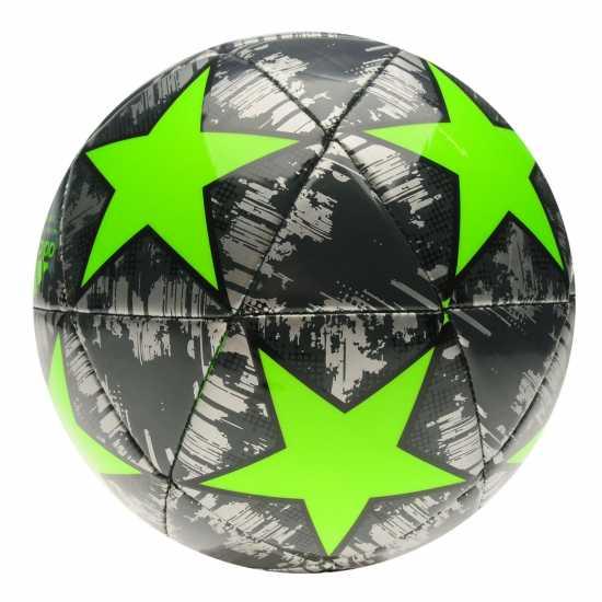 Adidas Uefa Champions League Capitano Replica Football Silver/Green Футболни топки