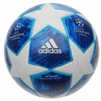 Adidas Champions League Top Training Football White Футболни топки