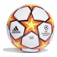 Sale Adidas Champions League Top Training Football Wht/Red/Yell Футболни топки