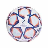 Adidas Top Training Football White/Blue Футболни топки