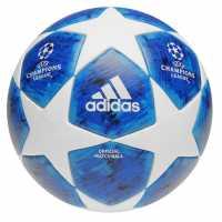 Adidas Finale 18 Uefa Champions League Official Match Ball White/Blue Футболни топки