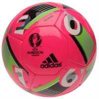 Adidas Футболна Топка Uefa Euro 2016 Glider Replica Football Shock Pink Футболни топки