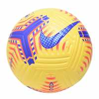 Nike Premier League Official Match Flight Football Yellow Футболни топки