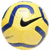 Nike Strike Premier League Football Yellow Футболни топки