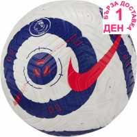 Sale Nike Strike Premier League Football White/Blue Футболни топки