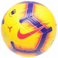 Nike Merlin Premier League Ball Yellow/Purple Футболни топки