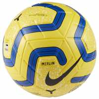 Nike Premier League Merlin Football Yellow Футболни топки