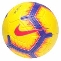 Nike Strike Premier League Football 2018 2019 Yellow/Crimson Футболни топки