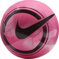 Nike Phantom Soccer Ball Pink/White/Blk Футболни топки