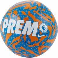 Nike League Pitch Ball 99 Blue/Org/White Футболни топки